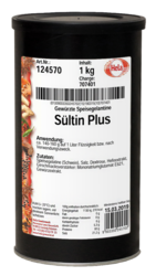 Sültin Plus, Dos AT 1000 gr