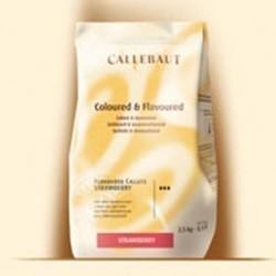 Raps Callebaut Dekormasse Erdbeere, 2,5 kg online bestellen