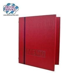 Speisekarte rot, A4 Übergröße, 1 Stk.