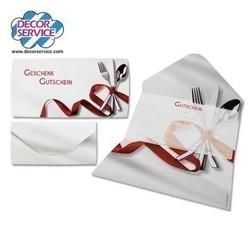 Geschenkgutschein Gastro, 19 x 28.5cm, 25 Stk.