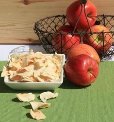 Getrocknete Apfelino Apfelspalten ohne Schale,1 kg
