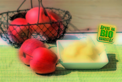 Frische Apfelino Äpfel, blättrig geschnitten, 5 kg