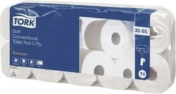 Tork Toilettenpapier 3065 3-lagig, 6x10 Rollen