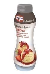 Oetker Dessert Sauce Erdbeer, 1 kg