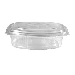 Ovale Salatschale mit angeh. Deckel 375 ml 400 Stk