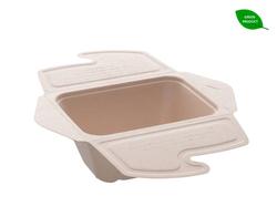 """Rechteckige BePulp """"Meal Box to Go"""", 750 ml, 200 Stk/Ktn"""