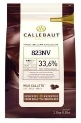"""Kuvertüre-Linsen """"Vollmilch"""" 33,6% Kakao 2,5 kg"""