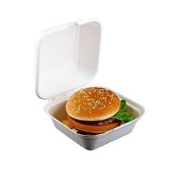 Burgerverpackung H: 8 cm, 800ml