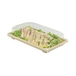 BIO Sushibox mit transparenten Deckel