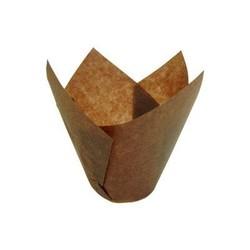 Cupcake braun Ø 50 x 95 mm