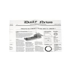 Fettdichte Papiere im Newspaper-Design