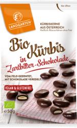 Bio Kürbis in Zartbitter-Schokolade 50g