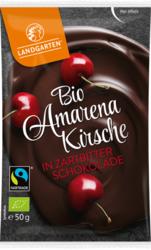 Bio Amarenakirsche in Zartbitter-Schokolade 50g