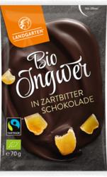 Bio Ingwer in Zartbitter-Schokolade 70g