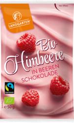 Bio Himbeere in Beeren-Schokolade 50g