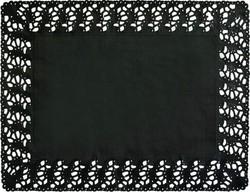 DUNI Tortenspitzen  30 x 40 cm, schwarz