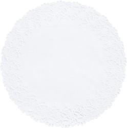 DUNI Tortenspitzen Ø 10 cm, weiß