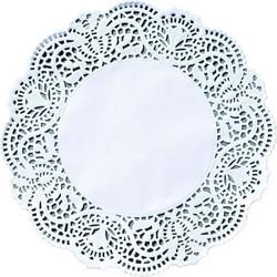 DUNI Tortenspitzen Ø 12 cm, weiß