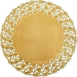 DUNI Tortenspitzen Ø 36 cm, gold