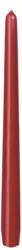 Leuchterkerzen 250x22 mm, bordeaux, 100 Stk