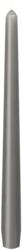 Leuchterkerzen 250x22 mm, granite grey,100 Stk