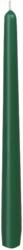 Leuchterkerzen 250x22 mm, jägergrün, 100 Stk