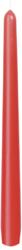 Leuchterkerzen 250x22 mm, rot, 100 Stk