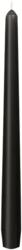 Leuchterkerzen 250x22 mm, schwarz, 100 Stk