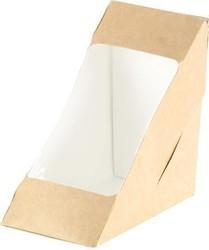Box für 2 Sandwichecken mit Fenster,175 x 75 x 90