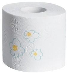 Toilettenpapier Paloma Dekor, 3lagig, 10 x 150 Blatt