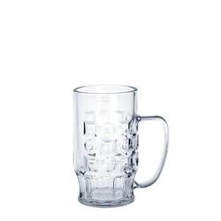 Bierkrug 0,4 l SAN glasklar