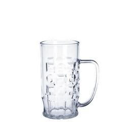 Bierkrug 0,5l SAN glasklar