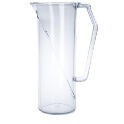 Wasserkrug 1l SAN glasklar