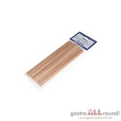 Holz-Schaschlikstäbe 20 cm, Ø 3 mm
