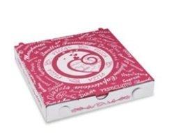 Pizzakarton aus Mikrowellpappe 20 x 20 x 3 cm