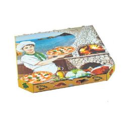 Pizzakarton aus Mikrowellpappe 33 x 33 x 3 cm