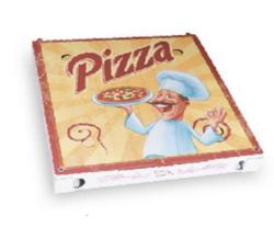 Pizzakarton aus Mikrowellpappe 29,5 x 29,5 x 3 cm