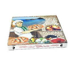 Pizzakarton aus Mikrowellpappe 40 x 40 x 4 cm