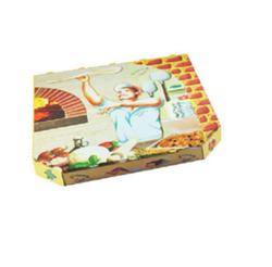 Pizzakarton aus Mikrowellpappe 32 x 32 x 3 cm