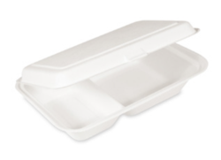 Lunch-Box BIO Zuckerrohr 250 x 162 x 63 mm