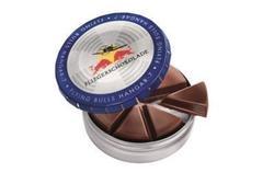 Flying Bulls Fliegerschokolade für die Gastronomie