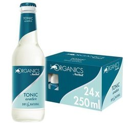 ORGANICS BY RED BULL -  TONIC WATER - Glass Bottle