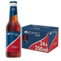 ORGANICS BY RED BULL -  SIMPLY COLA - Glass Bottle
