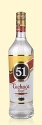 Cachaça 51 Brazil Sugar Cane Spirit 40% Vol. 1 l