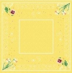 DUNI Dunicel Mitteldecken 84 x 84 cm, Spring Lilies