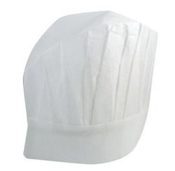 Kochmütze aus Papier - weiß