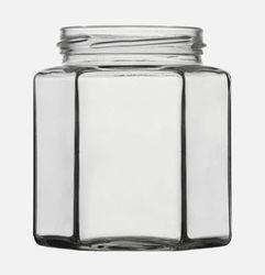 Sechskantglas 390ml, Twist Off 70