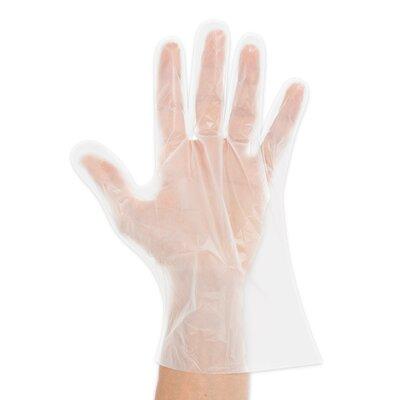 Einweghandschuhe HDPE (Größe L)