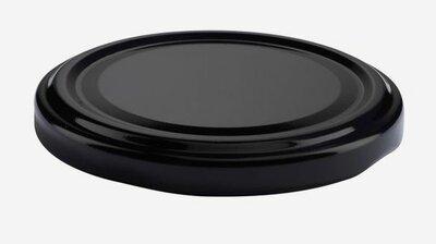 TWIST-OFF DECKEL, ø70mm, schwarz