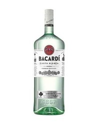 Bacardi Carta Blanca Rum 1,5 l